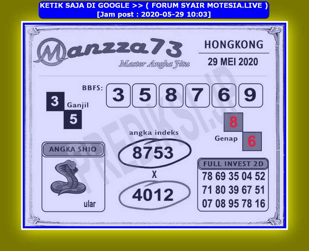 Kode syair Hongkong Jumat 29 Mei 2020 152