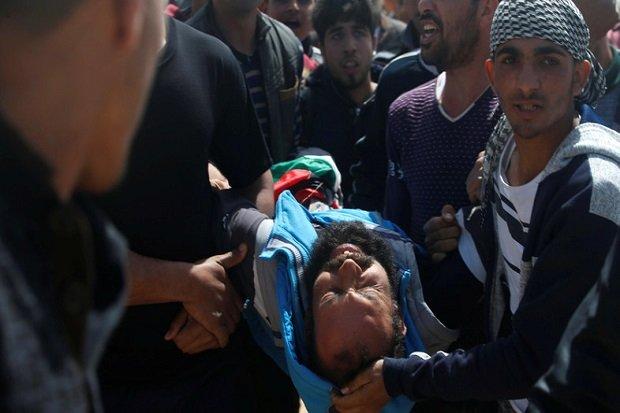 Astaghfirullah, Tank Israel Bombardir Gaza, Seorang Petani Palestina Meregang Nyawa