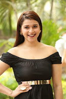 Mannara Chopra in Short Off Shoulder Black Dress ~  Exclusive 059.JPG