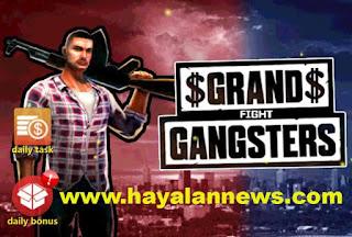 Trik tarik cash (uang) gratis game grand gangsters 3d terbaik