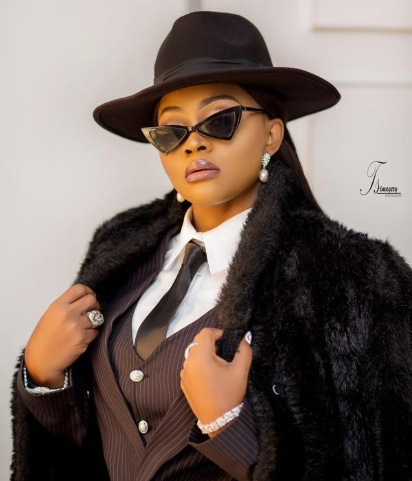 Mercy Aigbe is 'bossed up' in new photoshoot