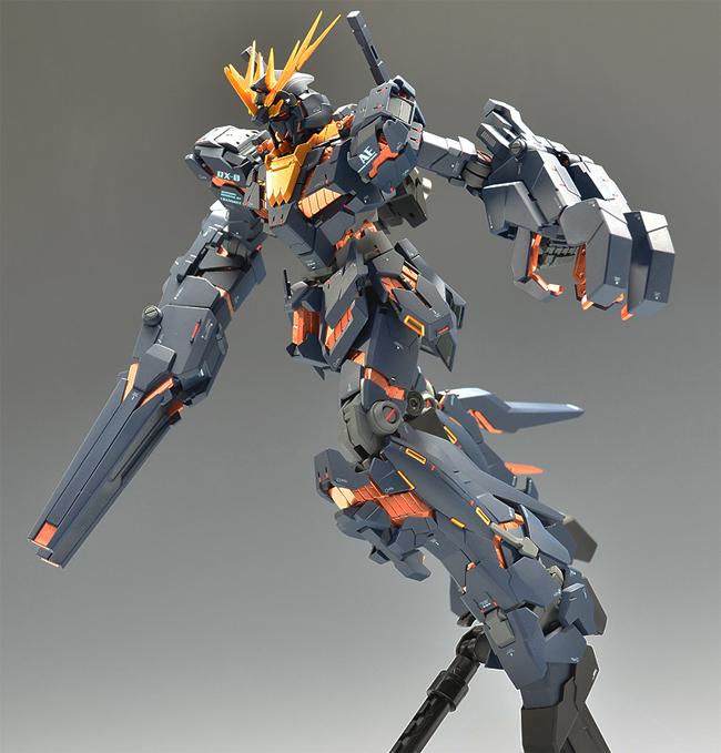 Mg 1 100 Gundam Unicorn 02 Banshee Custom Build Gundam Kits
