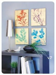Cara Membuat Kerajinan Tangan - Lukisan Dinding