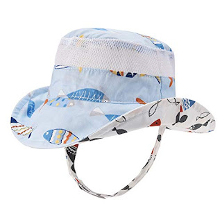 The best Baby Toddler Safari Sun Protection Hat 50 UPF - Double-Sided  Available Kids Breathable
