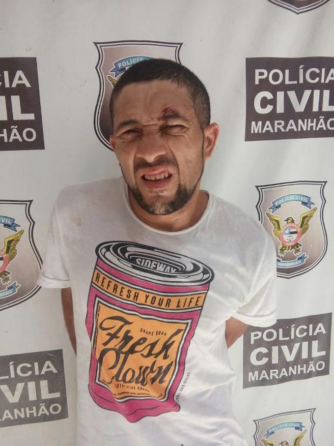 Em Chapadinha, Homem arromba loja, luta com proprietário e acaba preso pela polícia.