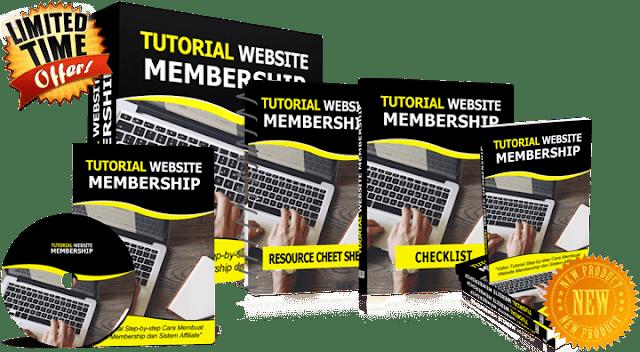 Apakah Anda sudah PUSING mencari uang dari internet Tutorial Website Membership PLR Licence