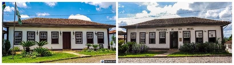 Sede da Prefeitura: Catas Altas e São Miguel da minissérie Se Eu Fechar os Olhos Agora. Foto do cenário: Marilane Batista/Ascom
