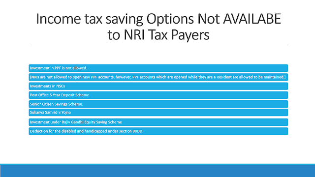 Tax Saving options for NRIs