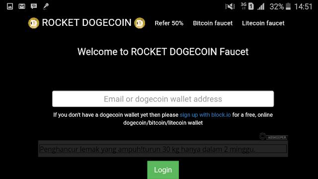 Cara Mendapatkan 1000 Doge Coin