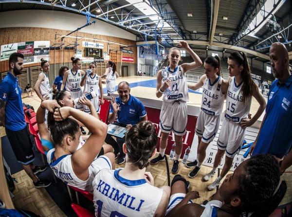 Εθνική Νεανίδων: Με την Κύπρο για τις θέσεις 9-16 - Το αυριανό πρόγραμμα - Γιαννουσίου: «Παίζουμε πάντα για τη νίκη»