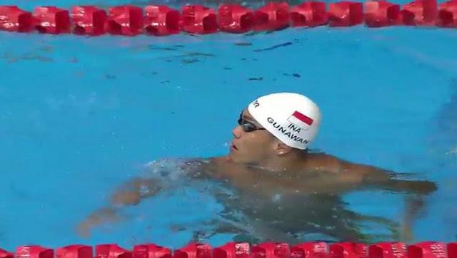 Perenang Indonesia, Indra Gunawan, Anak Siantar itu pun Berhasil Meraih Medali Emas di Sea Games Malaysia