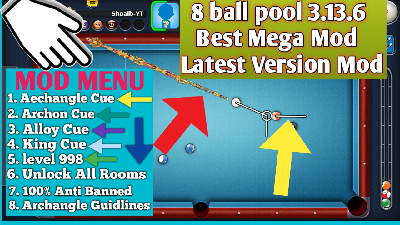 8 Ball Pool Anti Ban Mod Apk Download 2018 Billedgalleri