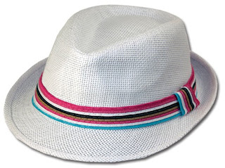 508fb48878861 Product Description Classic fedora hats are a must have fashion accessory.  Features pinch top Fedora Hat with multi-color band. About Sakkas Store   Sakkas ...