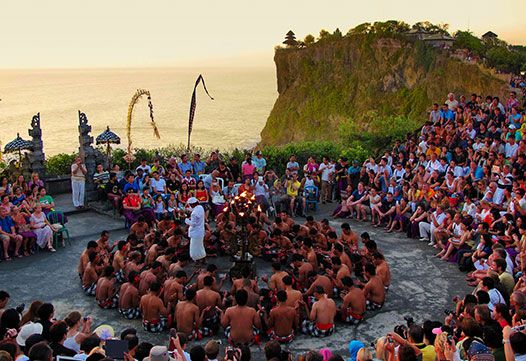 Uluwatu temple tour Bali - Kecak Dance Performance