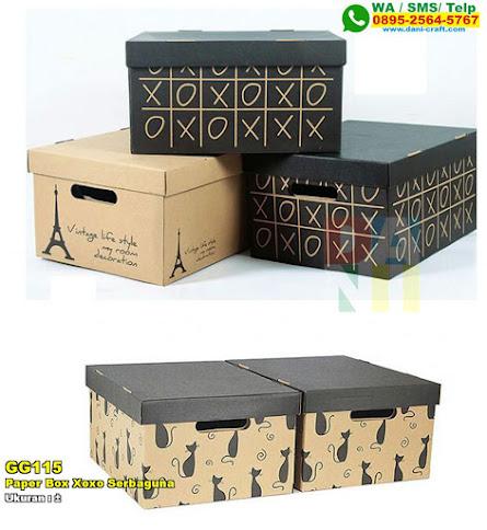 Paper Box Xoxo Serbaguna