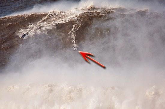 Surfista Onda gigante