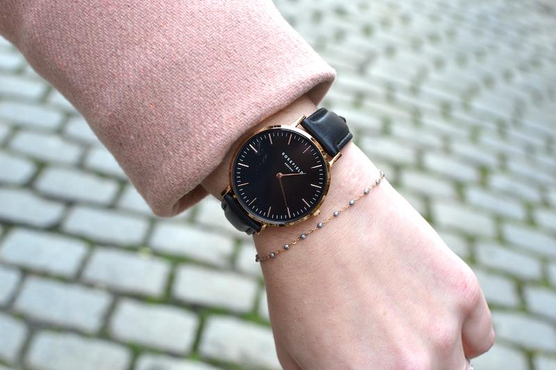 montre rosefield et bracelet Gigi clozeau