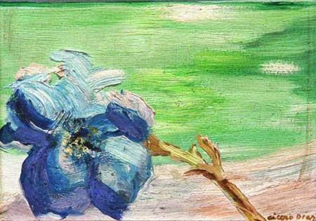 Flor - Cícero Dias e suas principais pinturas ~ Pintor pernambucano