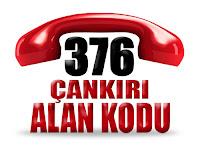 0376 Çankırı telefon alan kodu