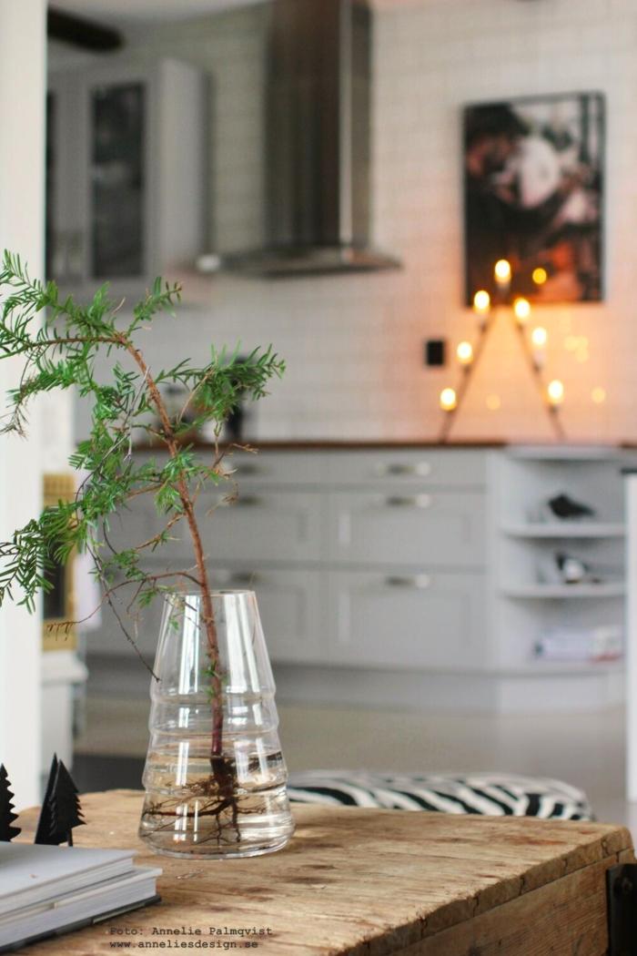 annelies design, webbutik, gran, granar, vas vaser, vardagsrum, vardagsrumet, jul, julen, julpynt, julen 2018, kök