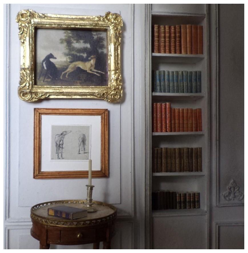 maison fran aise 1 12 whippet tableaux et concours. Black Bedroom Furniture Sets. Home Design Ideas