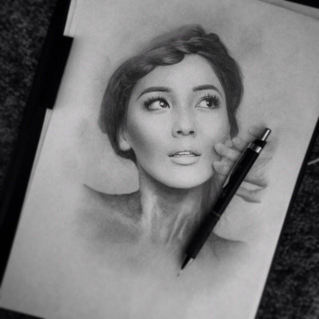 10-Айдана-Меденова-Berikuly-Erkin-Very-Expressive-Realistic-Portraits-www-designstack-co
