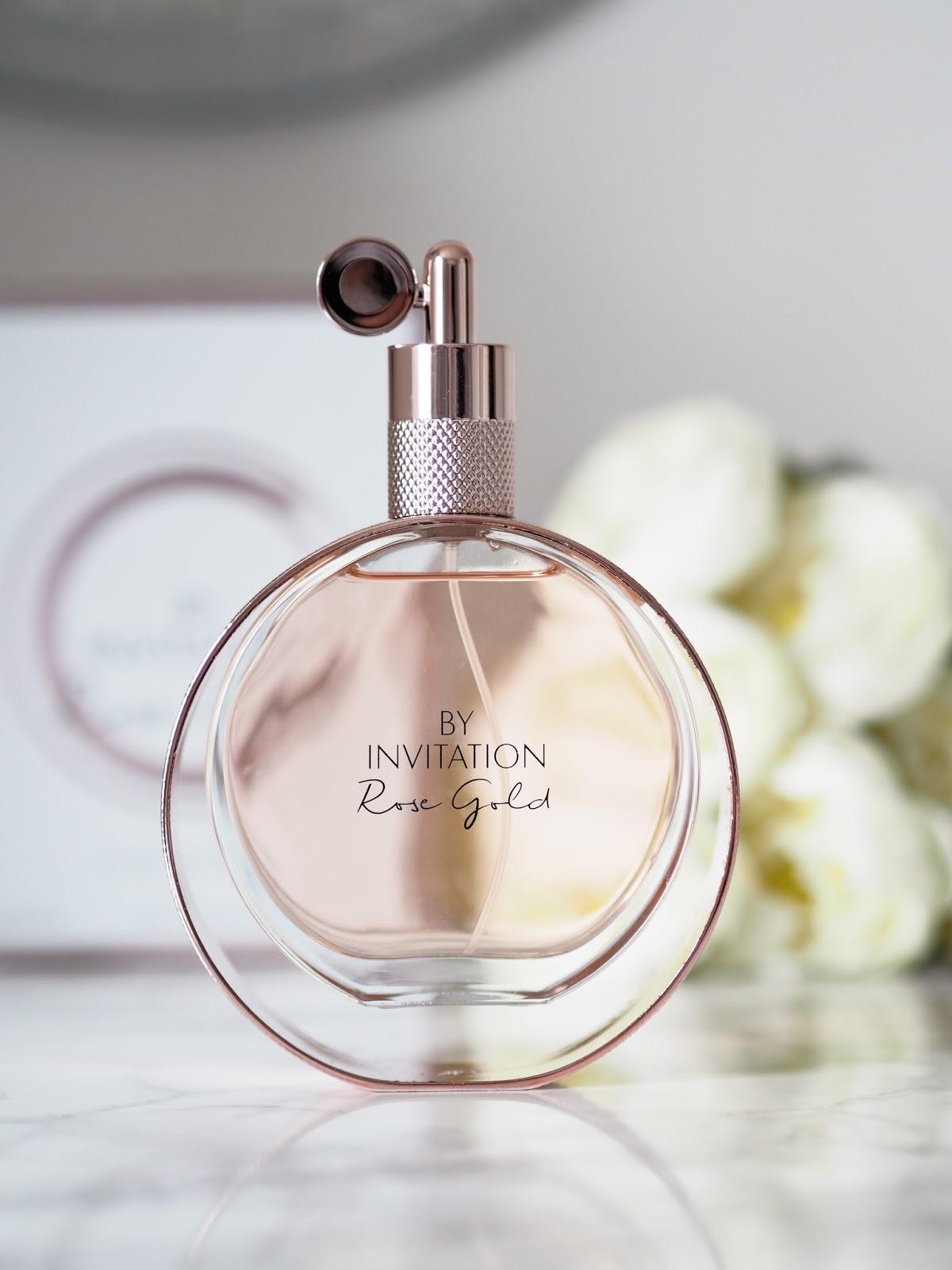 Michael bublé By Invitation Rose Gold eau de parfum Floral oriental gourmand fragrance \ Priceless lLife of Mine \ over 40 lifestyle blog