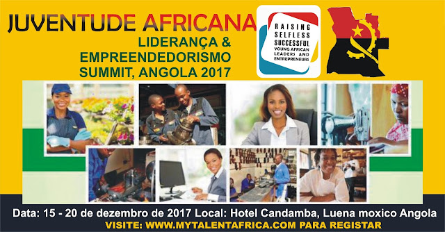 Registrar para CUMPRA AFRICANA DE EMPODERAMENTO DA JUVENTUDE ANGOLA 2017