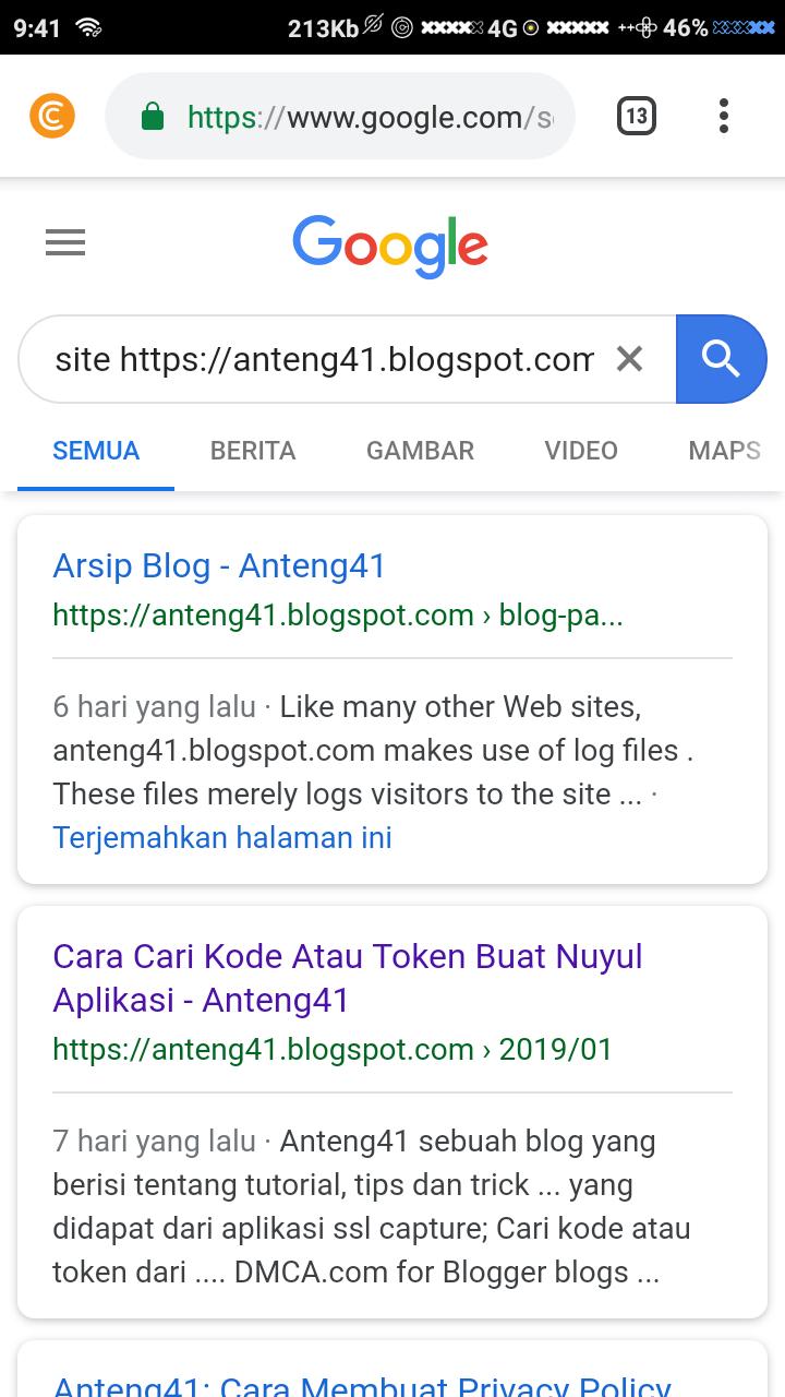Cara Cepat Artikel Diindeks OLeh Google