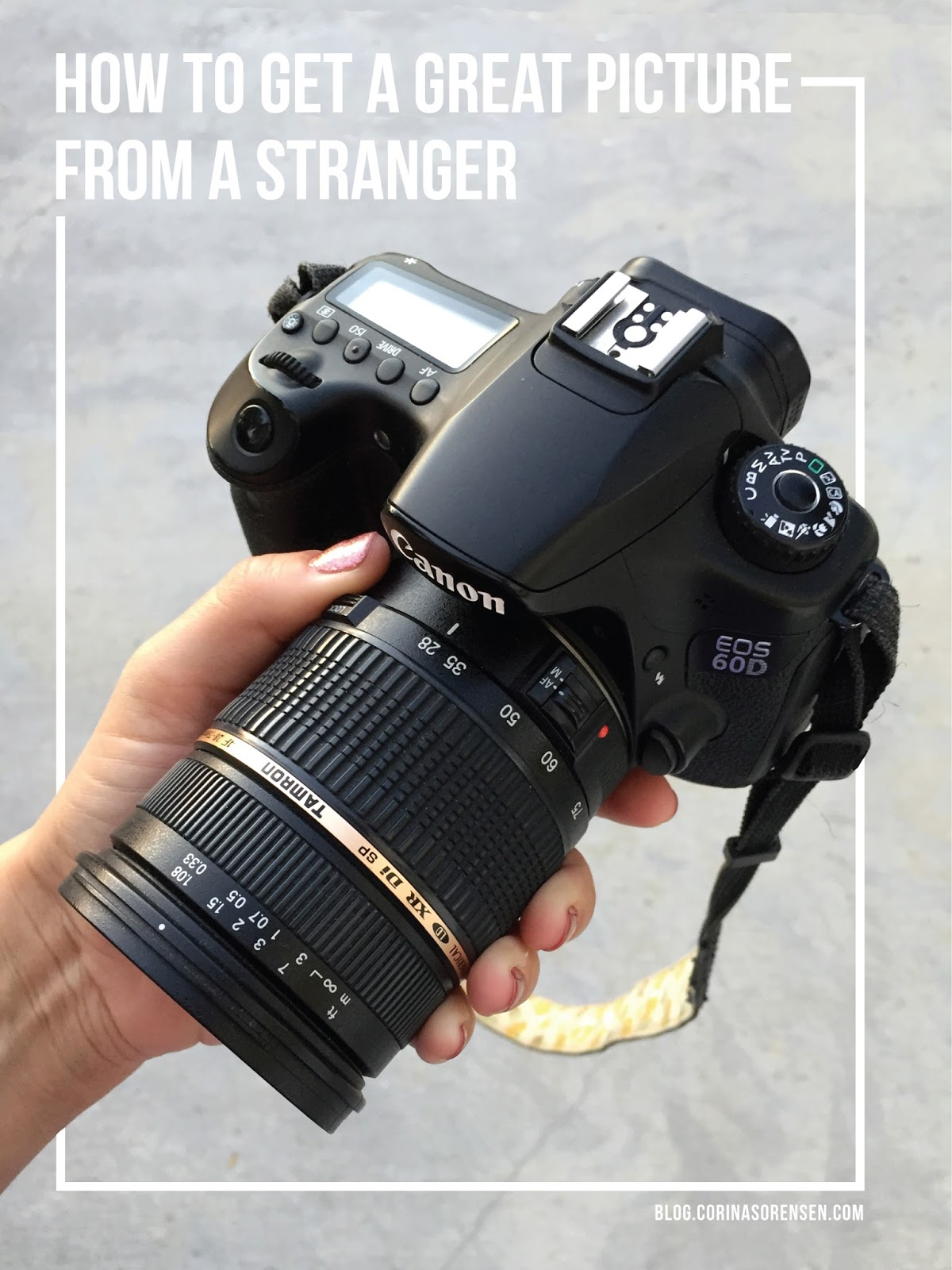 How to get a great picture (OF YOU) from a stranger