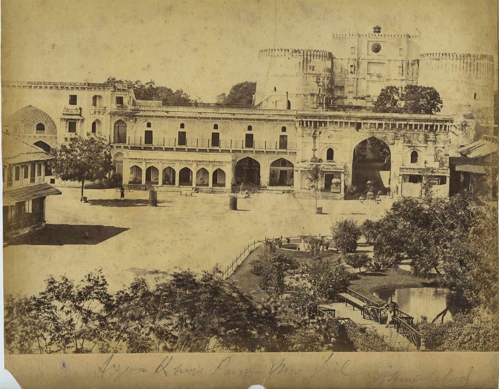 Azum Khan's Palace in Ahmedabad, Gujarat - c1870's