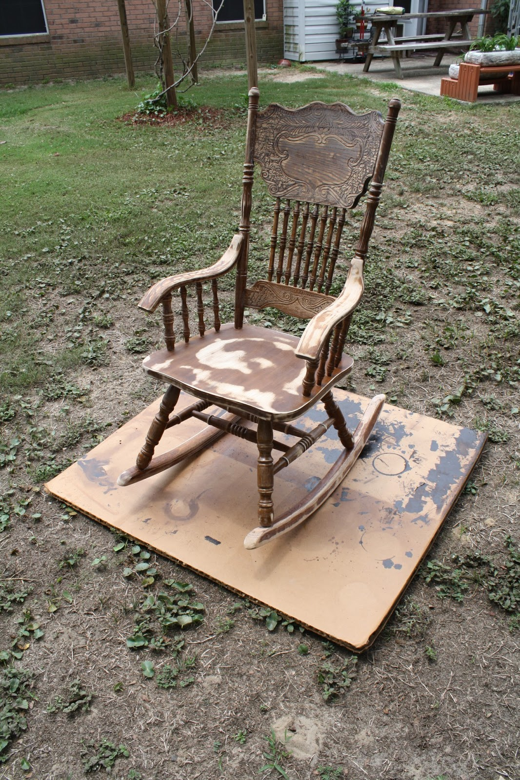 how to make a rocking chair not rock cloth office chairs with wheels la bella colori my 39n and i won