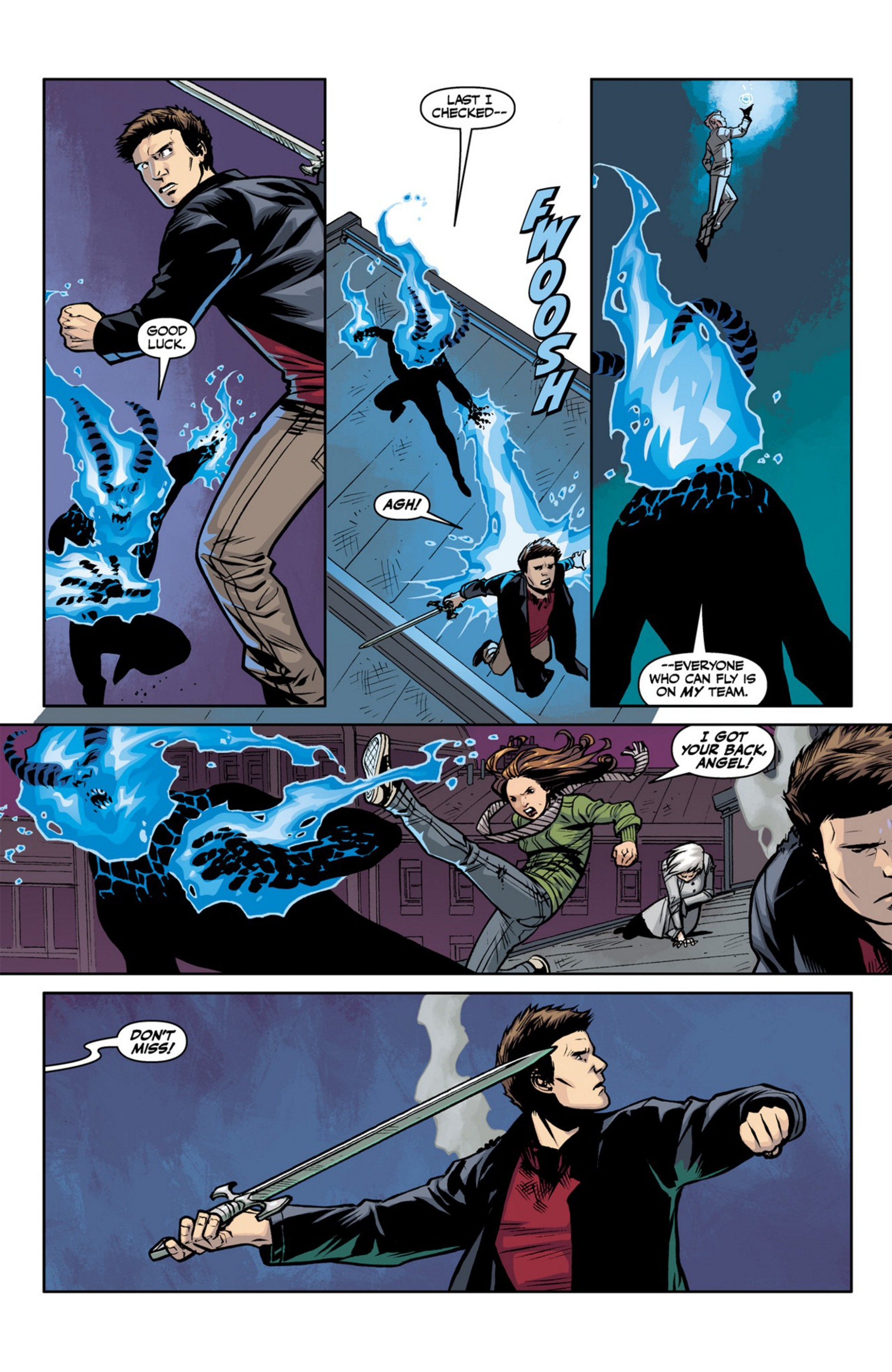 Read online Angel and Faith comic -  Issue #23 - 20