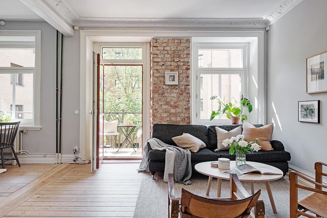 Stil scandinav ntr un apartament de 61 m jurnal de for Al saffar interior decoration l l c