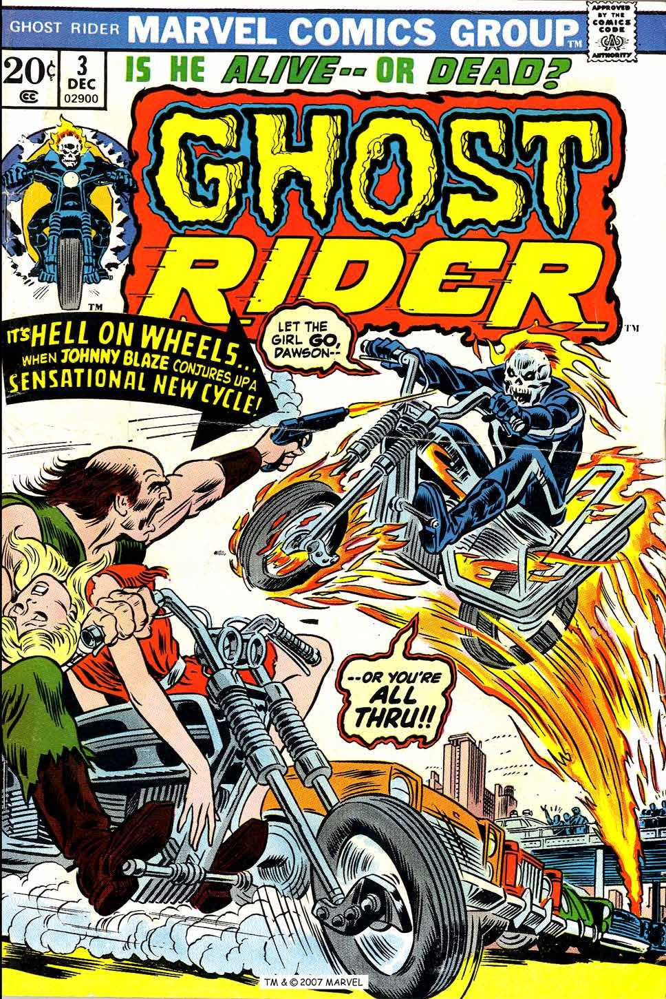 Ghost Rider (1973) issue 3 - Page 1