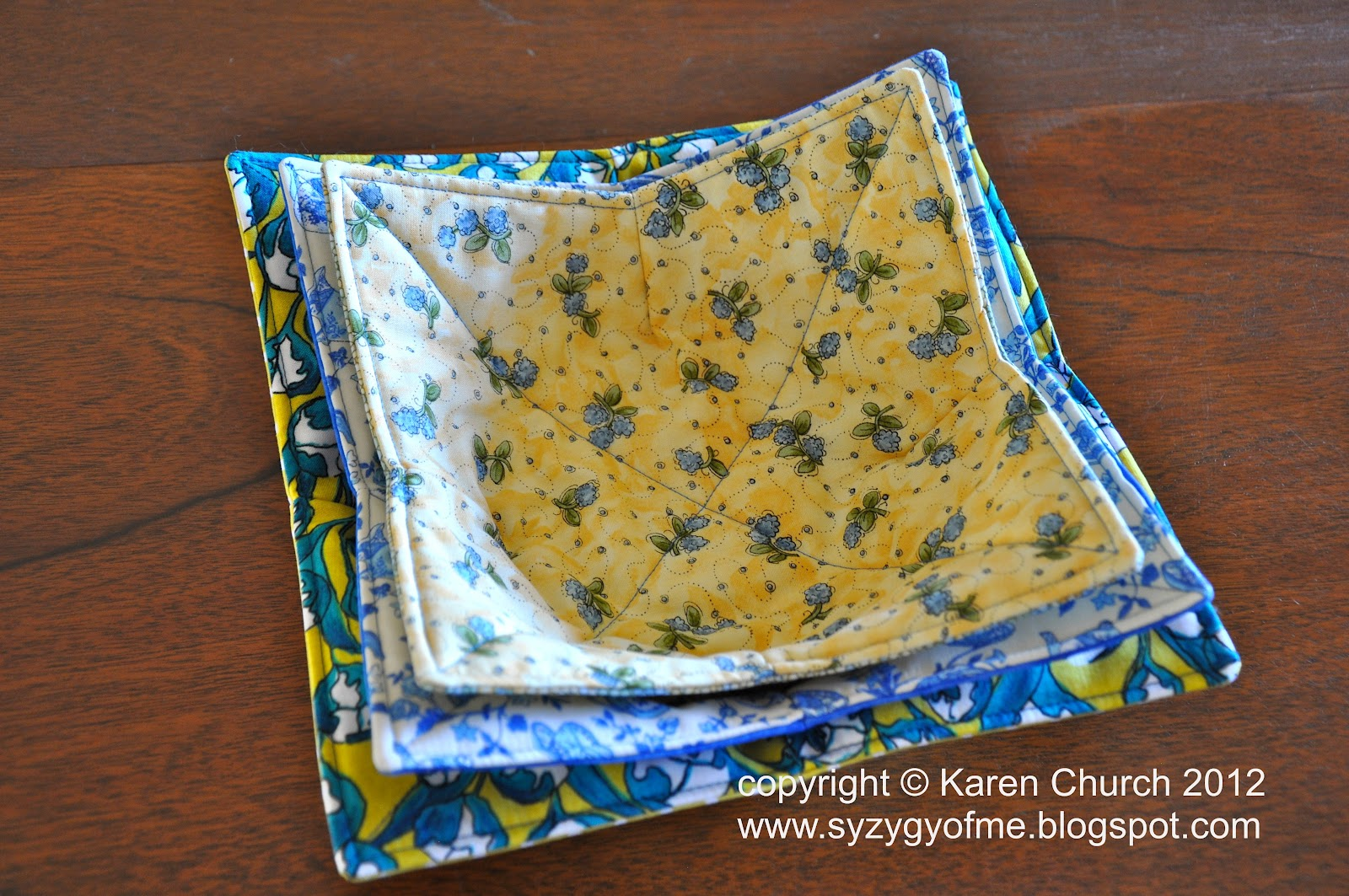 Syzygy Of Me Microwave Bowl Potholder And Tutorial