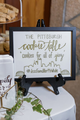 cookie table featuring Pittsburgh PA