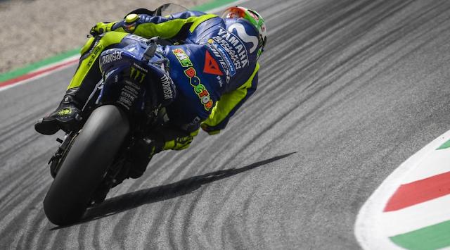 パッシーニ MotoGP2018 ムジェロ  ポールポジション