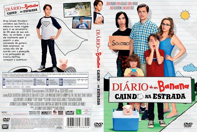 Capa DVD Diário de um Banana: Caindo na Estrada [Custom]