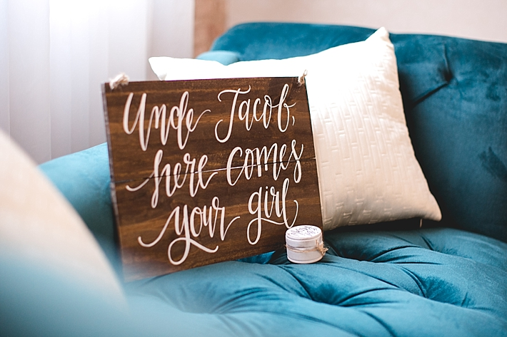Custom Calligraphy Wedding Signs