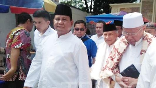 Pengurus Masjid Kauman Tolak Acara Salat Jumat Bareng Prabowo