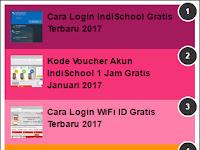 Kode Akun Premium WIFI ID Gratis Terbaru 2018