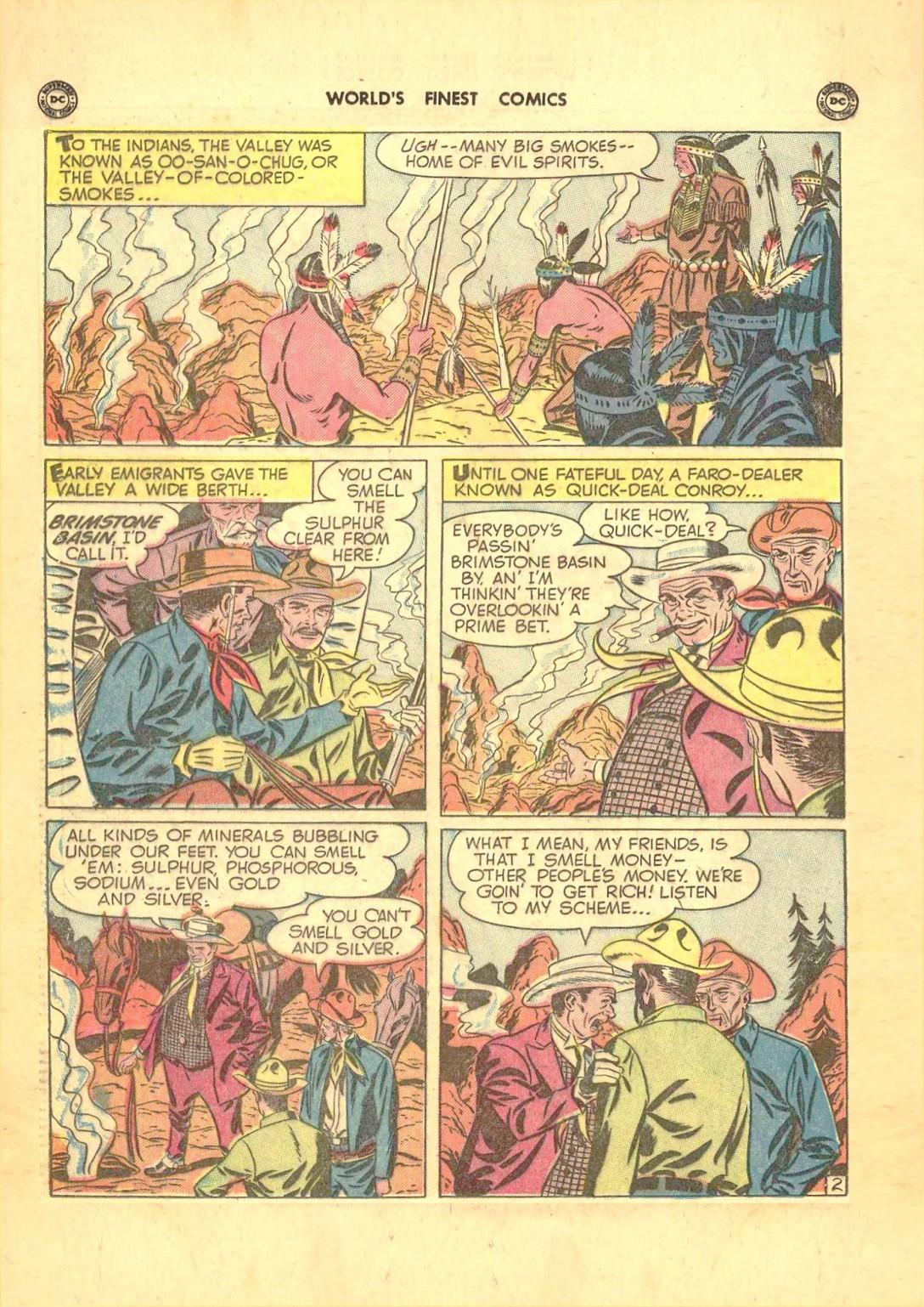 Read online World's Finest Comics comic -  Issue #50 - 40