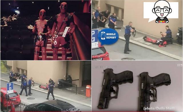 DIkira Teroris Penggemar Deadpool Diringkus Polisi