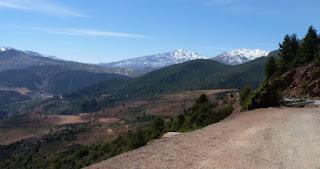 El Gran Atlas marroquí.