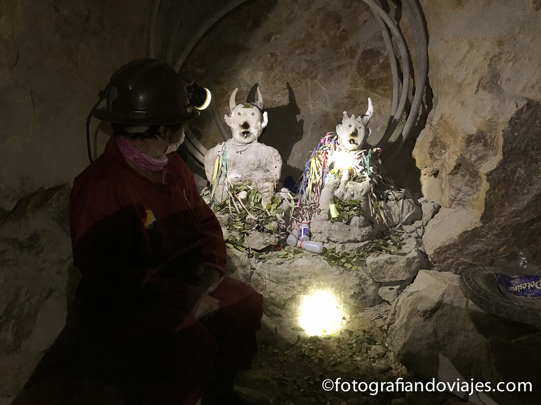 Interior minas Potosí