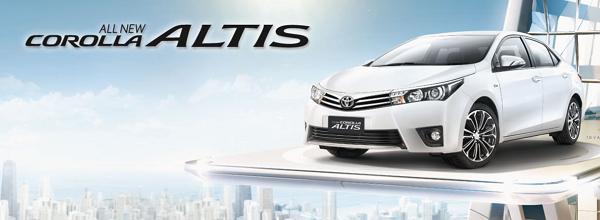 Spesifikasi Harga Toyota Corolla Altis Bandung