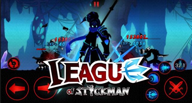 League of Stickman 2017 v3.3.0 Mod Apk Terbaru (Free Shopping)