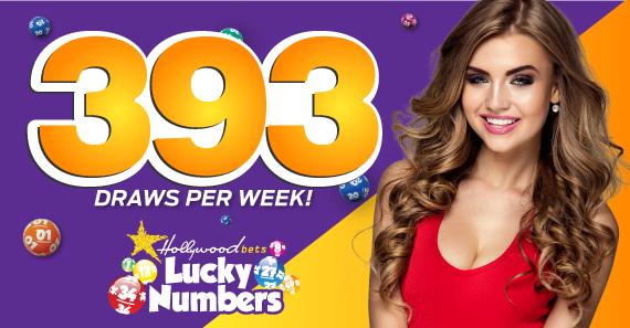 393 Lotto Draws to bet per week with Lucky Numbers at Hollywoodbets