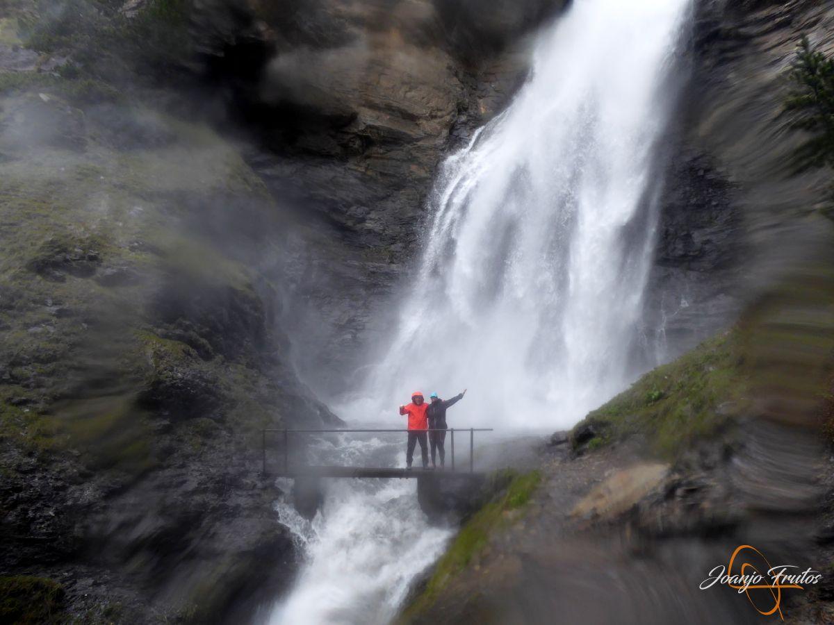 P1140149 - Ruta Las Tres Cascadas de Cerler con mucha agua